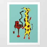 dance Art Prints featuring Dance by Anna Shell