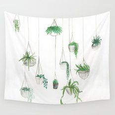 Urban Greenery: Part 1 Wall Tapestry