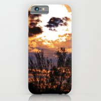 iPhone & iPod Case featuring Evening Sky by Catherine Doolan