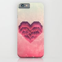iPhone Cases featuring Interstellar Heart IV by VessDSign