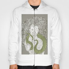 Snake and Sprite: Green Hoody