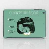 Flequillos iPad Case