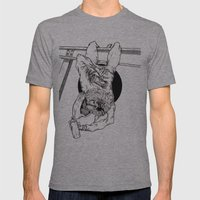 Bat Mens Fitted Tee Athletic Grey SMALL