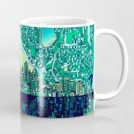 Seattle City Skyline Mug