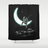The Moon Song Shower Curtain
