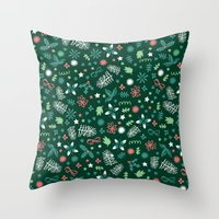 Have A Holly Jolly Chris… Throw Pillow