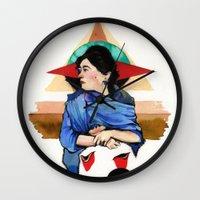 Libra (Zodiac) Wall Clock