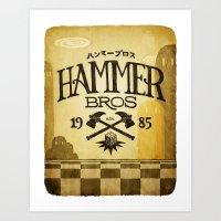 HAMMER BROTHERS Art Print