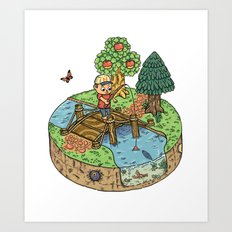 New Leaf Art Print
