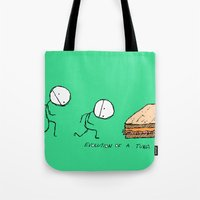 Evolution of a Tuna Melt Tote Bag