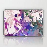 Abstract Wallpaper Pink Laptop & iPad Skin