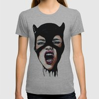 Scream Womens Fitted Tee Athletic Grey SMALL