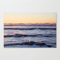 Winter Ocean Canvas Print