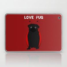 Love Pug! Laptop & iPad Skin