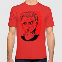 Young Turks Mens Fitted Tee Red SMALL