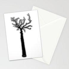 Black & White Tree's Stationery Cards
