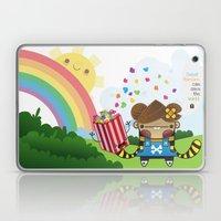 PopCorn Can Save The Wor… Laptop & iPad Skin