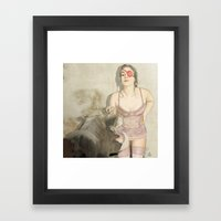 The Cleanup  Framed Art Print