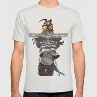 Jonah- Island Mens Fitted Tee Silver SMALL