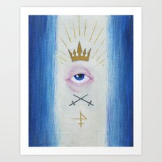 Illuminati : Gaze of Protection Art Print