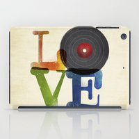 Love Is Music iPad Case