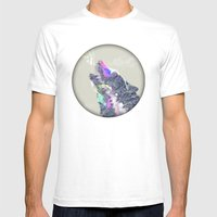 Cry Wolf Mens Fitted Tee White SMALL