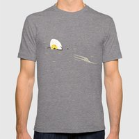 FORCK Mens Fitted Tee Tri-Grey SMALL