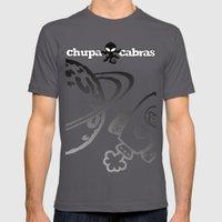 CHUPACABRAS - Light Yell… Mens Fitted Tee Asphalt SMALL