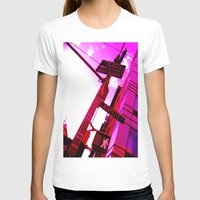 Best Route Womens Fitted Tee White SMALL