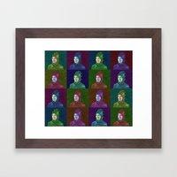Dinosaur Britta Framed Art Print