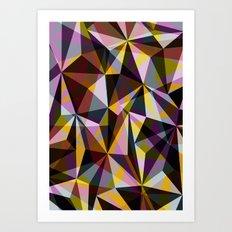 ∆ V Art Print