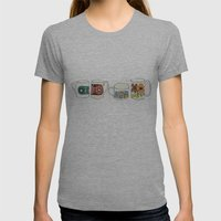 Tea time Womens Fitted Tee Athletic Grey SMALL