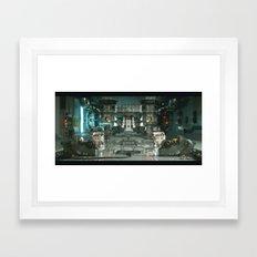 ZERO-DAY (ONE) Framed Art Print