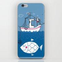 Love Boat Captain iPhone & iPod Skin