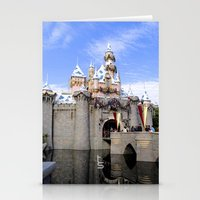 Sleeping Beauty's Holiday Castle Stationery Cards