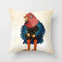 El Pájaro Throw Pillow