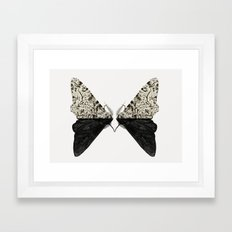 Peppered Moth Framed Art Print