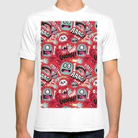 AGGGHH Mens Fitted Tee White SMALL
