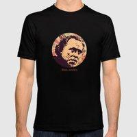 Bukowski Mens Fitted Tee Black SMALL