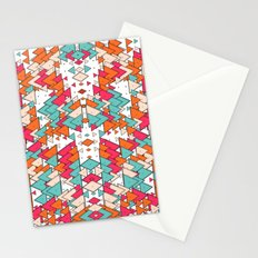 Chaotic Triangle Balance Stationery Cards