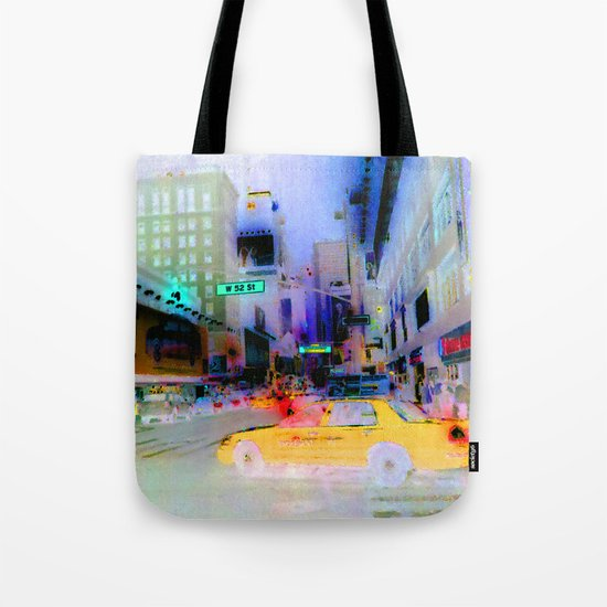 Racing to Oblivion at 50 Cents for Each Fifth of a Mile Tote Bag