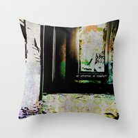 No Intuition, No Judgment Throw Pillow