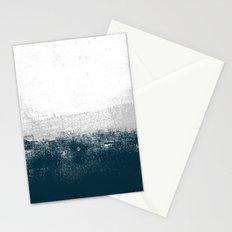 Ocean No. 1 - Minimal ocean sea ombre design  Stationery Cards