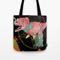 Necro-Dino From Planet Hell Tote Bag