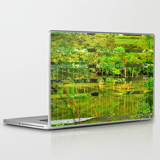 Landscape of My Heart (segment 3) Laptop & iPad Skin