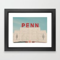 Penn Framed Art Print