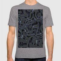 Metallic Mens Fitted Tee Athletic Grey SMALL