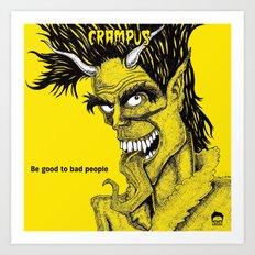 Crampus Art Print