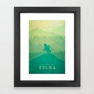 Warrior - The Legend Of … Framed Art Print