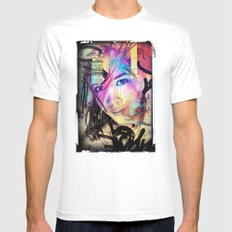 Street Queen Mens Fitted Tee White SMALL